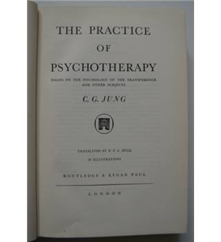 The Practice of Psychotherapy - C.C. Jung