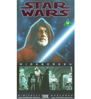 Star Wars [Episode IV: A New Hope] Digitally Remastered VHS U