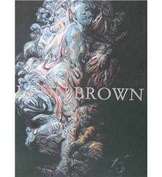 50% OFF SALE  Glenn Brown Book Painting Art