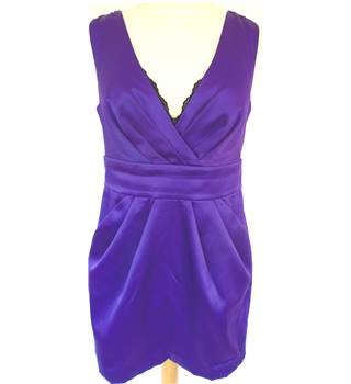 New Look Size 10 Purple - Cocktail dress