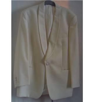 "REDUCED Moss Bros  - Evening Jacket – Size - 42""R - Cream"
