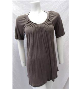Part Two Size S Grey/Brown Top Part Two - Size: S - Grey