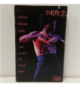 I Could Never Take The Place Of Your Man (cassette) Prince