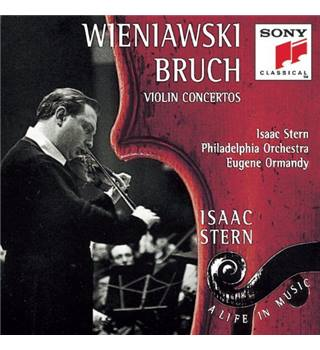 HENRYK WIENIAWSKI / MAX BRUCH / TCHAIKOVSKY ConcertoS for violin and orchestra - Isaac Stern