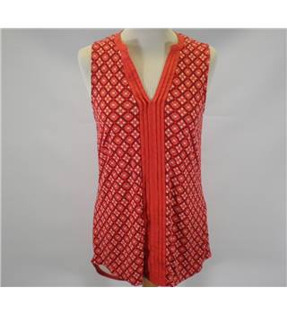 Next Size 10 Red shirt Blouse [HALF PRICE]
