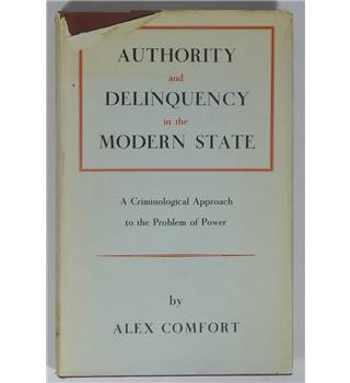 Authority and Delinquency in the Modern State
