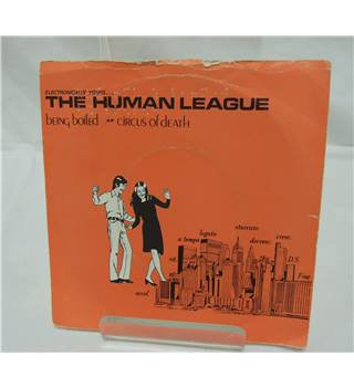 THE HUMAN LEAGUE being boiled / circus of death, 7 inch single, FAST 4 The Human League (Artist)  Format: Vinyl