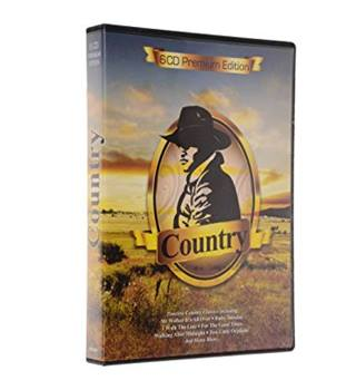 Premium Edition Country 6 CD Collection Johnny Cash, Kenny Rogers and Patsy Cline