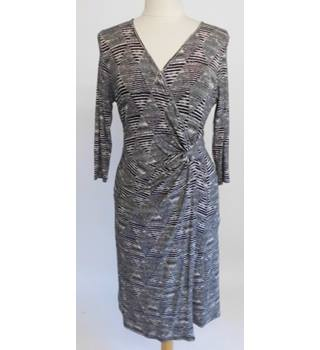 Black Crossover Dress Diamond Size 10