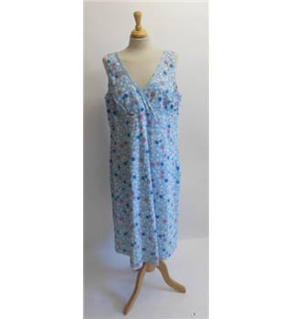 Boden Blue Polka Dot Dress Size 20