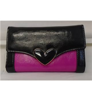 REDUCED Brand New Morgan Purse - Black & Pink