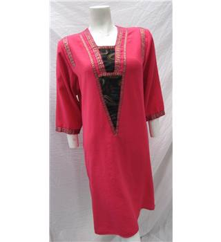 Ritika Creation Size XL Pink Dress Ritika Creation - Size: XL - Pink