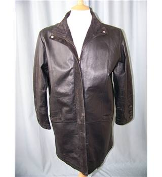 Milan Leather - Size: 14 - Black