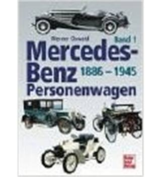 Mercedes-Benz Personenwagen 1886-1945   (all text in German)