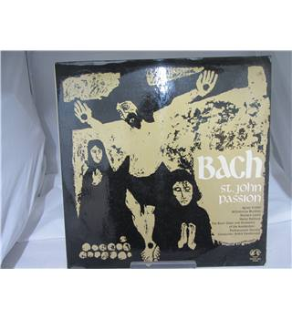 Bach St John Passion Double LP