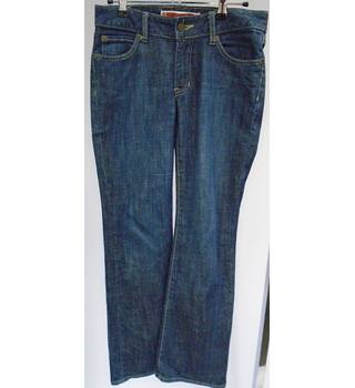 Gap  - Dark Blue Denim - Size 1R (UK 8-10) - Curvy Flare - Jeans