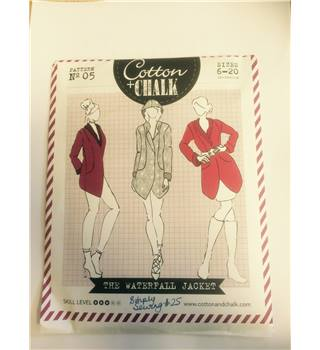 Cotton and Chalk sewing pattern No.5- complete, unused