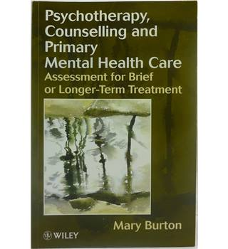Psychotherapy, Counselling and Primary Mental Health Care
