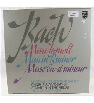 Bach: Messe H-Moll - Marriner, Chorus & Academy of St. Martin-in-the-fields - 6769002