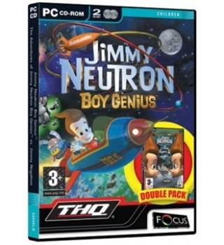 Jimmy Neutron Boy Genius Double Pack (PC)