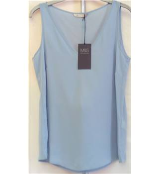 BNWT Marks & Spencer Collection Top - Size 10 - Soft Blue