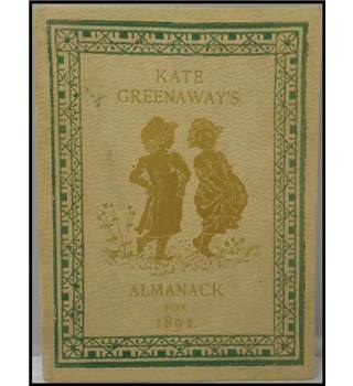 Kates Greenaway's Almanack for 1892