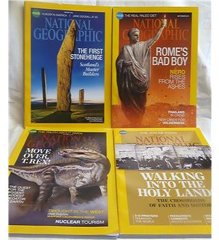 National Geographic Magazine - August 2014 - October 2014 + December 2014