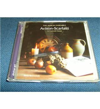 Avison 12 Concerti Grossi after Scarlatti The Avison Ensemble Beznosiuk 2 CD set Divine art dda21213