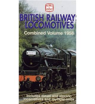 British railways locomotives 1958