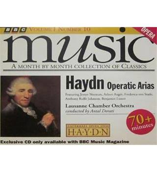 HAYDN (CD Album) Operatic Arias - BBC