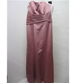 Alfred Angelo Ladies Rose Pink Evening Dress size 8 Alfred Angelo - Size: 8 - Pink - Evening dress