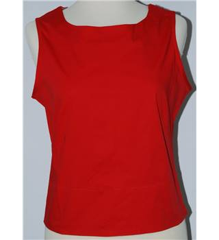 BNWT - Elle - Size S -  Red Sleeveless top [HALF PRICE]