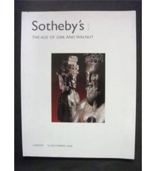Sotheby;s the Age of Oak and Walnut