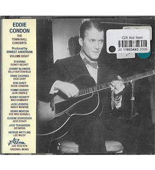 Eddie Condon The Town Hall Concerts Volume Eight Eddie Condon