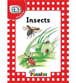 Jolly readers,  Insects,  pack set