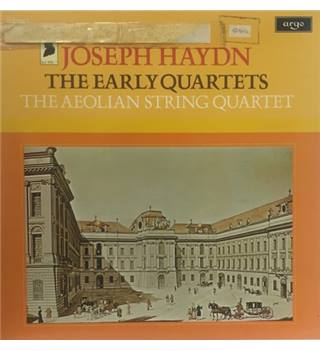 Joseph Haydn : The Early Quartets The Aeolian String Quartet - HDNM 52-56