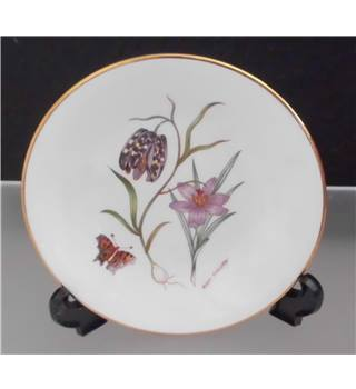 Royal Kendal China Mini Collector Floral Plate