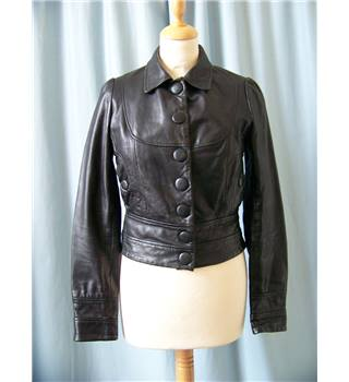 Miss Selfridge Petite - Size: 6 - Black - Casual jacket / coat