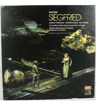Wagner ‎– Siegfried (In English) Reginald Goodall, Alberto Remedios, Norman Bailey, Rita Hunter, Sadler's Wells Opera Company