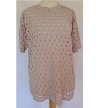 ASOS Size 8 Loose Fit Dusky Pink Top