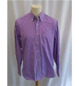 Tommy Hilfiger - Size: M - Purple - Long sleeved Shirt