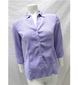 Reflections Size S Lilac and Purple Floral Blouse Reflections - Size: S - Purple