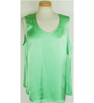 Gerry Webber size 20 Green Polyester Camisole