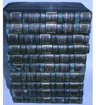 Author of Waverley, 37 Volume Set