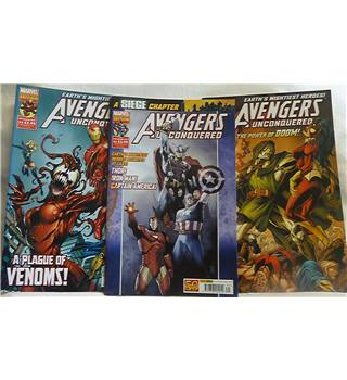 Avengers Unconquered - Earth's Mightiest Heroes No. 13 + 14 / A Siege Chapter No.35