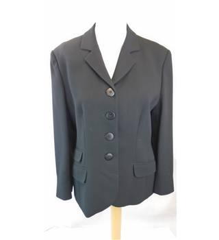 SMART PAUL COSTELLOE DESSAGE JACKET, SIZE 12 Paul Costelloe - Size: 12 - Black - Suit jacket