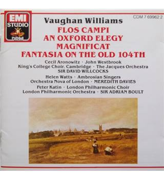 Vaughan Williams: Flos Campi; An Oxford Elegy; Magnificat; Fantasia on the Old 104th - Various Artists