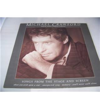 Songs from the Stage and Screen Michael Crawford with the London Symphony Orchestra - star 2308