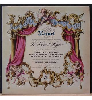 Highlights From  'Le Nozze Di Figaro' Wolfgang Amadeus Mozart - 33CX 1558