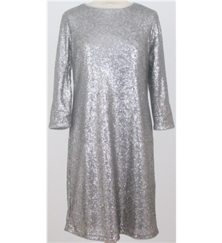 NWOT M&S Collection size: 18S silver sequined dress